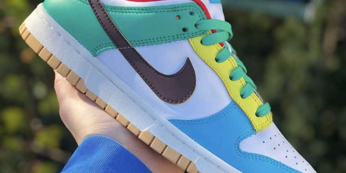 """Close glance The Nike Dunk Low """"Free 99"""" DH0952-100"""