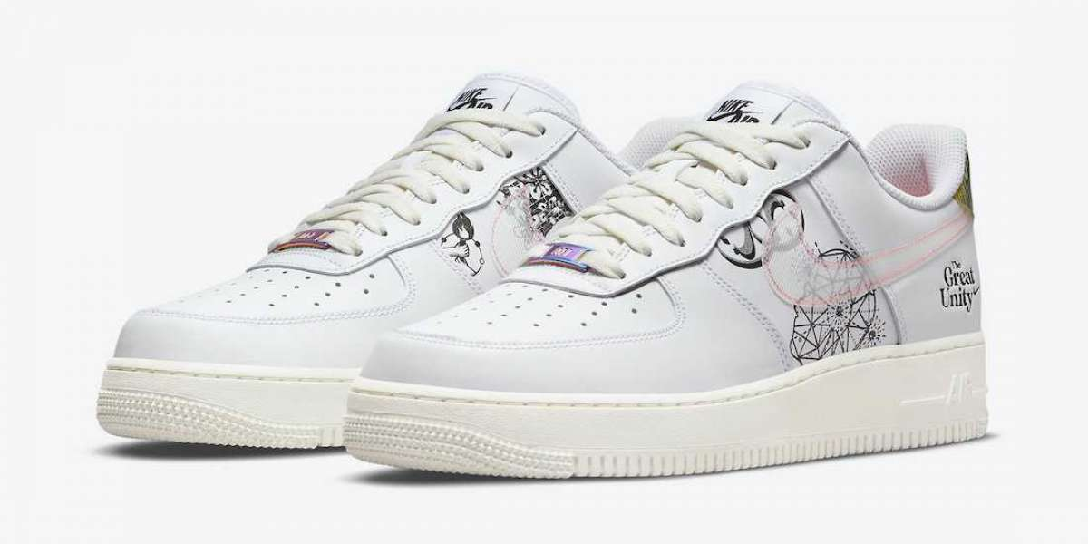 """High Quality Nike Air Force 1 Low """"The Great Unity"""" To Buy In Theairmax270.com"""